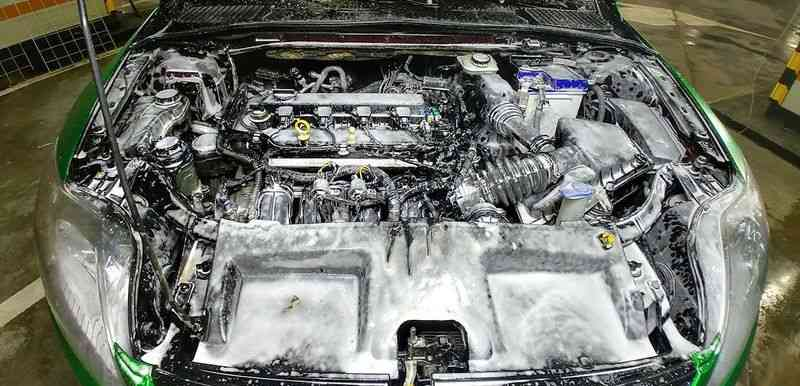 средство для мойки двигателя автомобиля своими руками