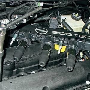 Быстрая смена свечей зажигания на двигателе Opel Astra H Z16XER и их подбор