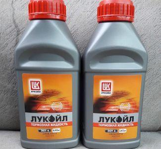 тормозная жидкость ЛУКОЙЛ DOT 4 или отзывы