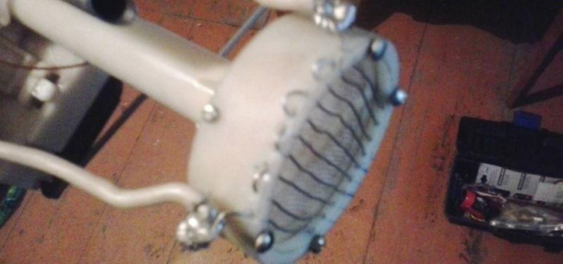 подогреватель дизельного топлива на базе проволокив в баке
