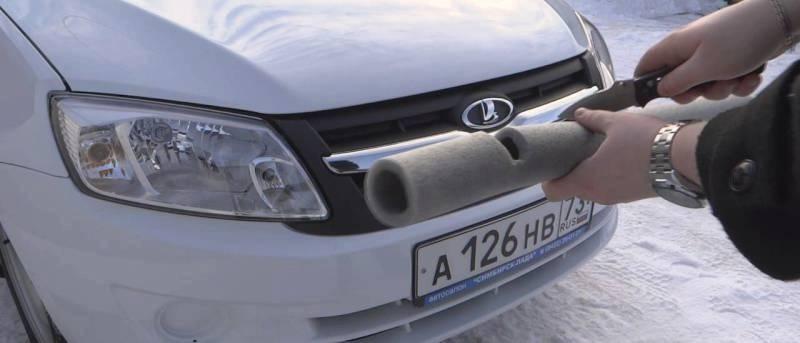 надо ли закрывать радиатор авто зимой