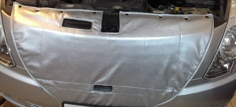 как правильно закрыть автомобильный радиатор на зиму