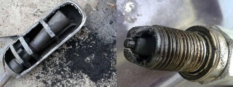перелив масла в двигатель чем грозит