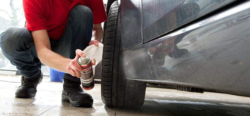 как удалить битум с машины не повредив краску