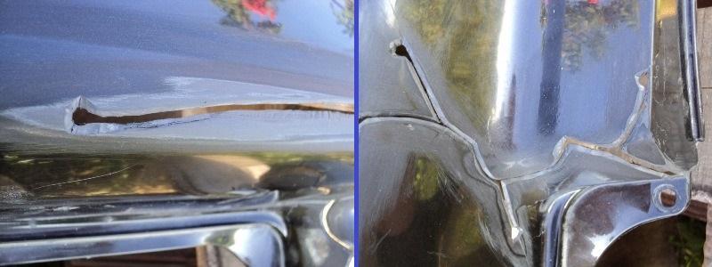 ремонт бампера из пластика своими руками эпоксидная смола