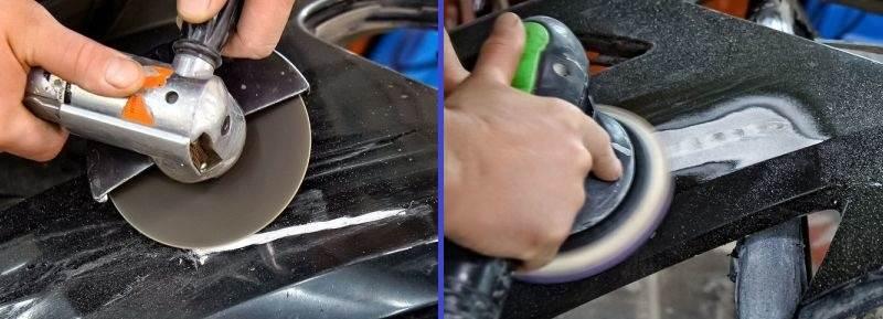 ремонт бампера из пластика своими руками какие материалы требуются