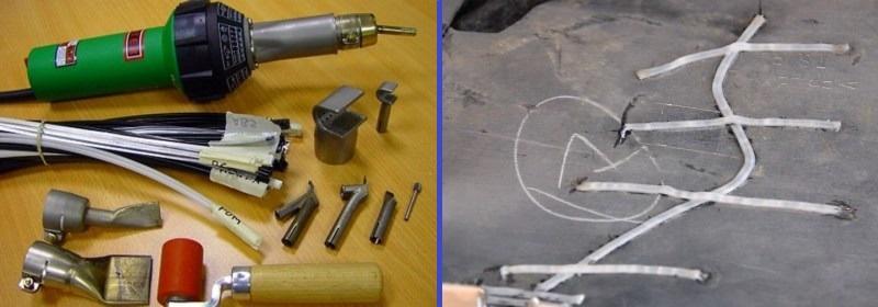 ремонт трещины бампера из пластика своими руками
