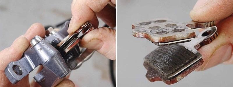 выпрямить тормозной диск на велосипеде
