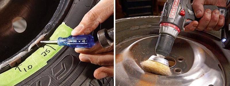 как правильно покрасить колесные диски