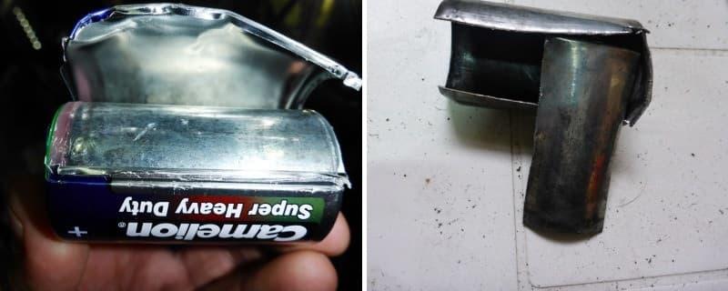 удалить ржавчину кислотой
